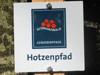 Markierung Hotzenpfad