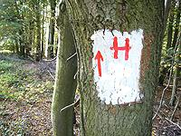 Markierung Hüttentour