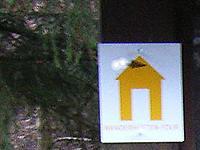 Markierung Hüttenwanderweg