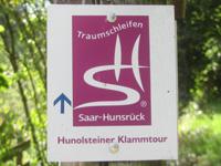 Markierung Hunolsteiner Klammtour