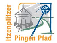 Markierung Itzenplitzer Pingenpfad