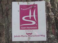 Markierung Jakob-Maria-Mierscheid-Weg