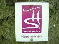 Markierung Kappleifelsen-Tour