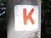 Markierung Keltenpfad