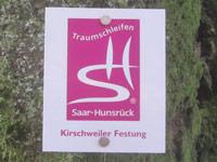 Markierung Kirschweiler Festung