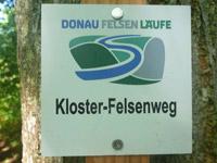 Markierung Kloster Felsenweg
