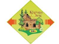 Markierung Kniebiser Klostersteig