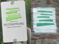 Markierung König-Johann-Runde