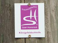 Markierung Königsfeldschleife