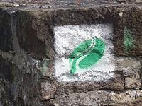 Markierung Kylltaler Buntsandsteinroute