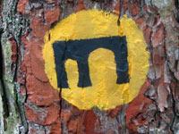 Markierung Leininger Klosterweg