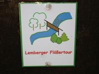 Markierung Lemberger Flößertour