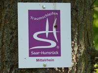 Markierung Mittelrhein