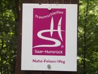 Markierung Nahe-Felsen-Weg
