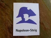 Markierung Napoleon-Steig