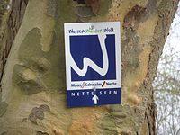 Markierung Nette-Seen