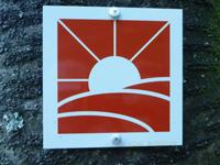 Markierung Paradiesgartenweg