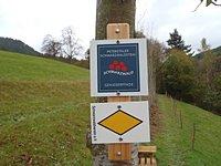 Markierung Peterstaler Schwarzwaldsteig