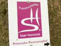 Markierung Primstaler Panoramapfad