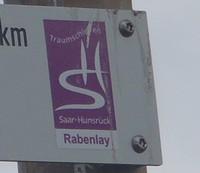 Markierung Rabenlay