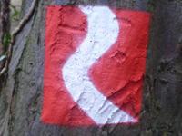 Markierung Rauenthaler Spange