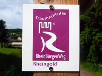 Markierung Rheingold