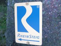 Markierung Rheinsteig