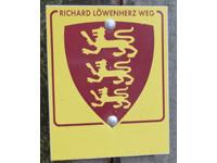 Markierung Richard-Löwenherz-Weg