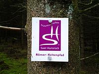 Markierung Römer-Keltenpfad