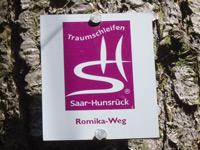 Markierung Romika-Weg