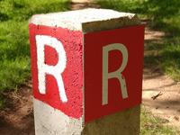 Markierung Royal Trail