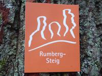 Markierung Rumberg-Steig