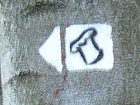 Markierung Saarschleifen Tafeltour