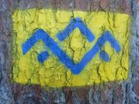 Markierung SalzAlpenTour Bründling-Alm