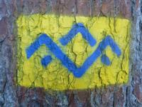 Markierung SalzAlpenTour Chiemsee-Alpenland