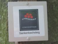 Markierung Sankenbachsteig
