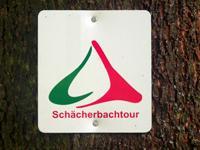 Markierung SchächerbachTour