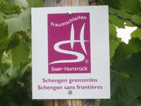Markierung Schengen grenzenlos Schengen sans frontières