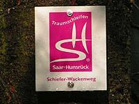 Markierung Schiefer-Wackenweg