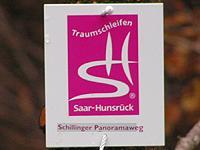 Markierung Schillinger Panoramaweg