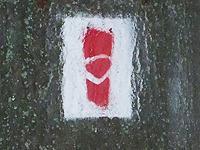 Markierung Schlossweg