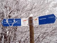 Markierung Schneewalzer