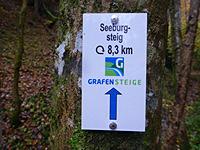 Markierung Seeburgsteig