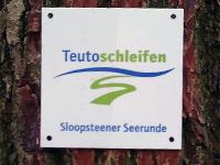 Markierung Sloopsteener Seerunde
