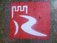 Markierung Stahlberg-Schleife
