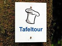 Markierung Stausee-Tafeltour