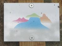 Markierung Stettener Panoramaweg