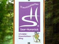 Markierung Stumm-Eisenhütten-Weg