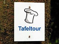 Markierung Wadrilltal-Tafeltour