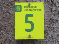 Markierung Thalachtal Panoramaweg